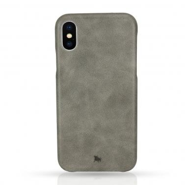 iPhone X Hülle aus Leder BULLAZO Menor Classic