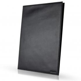 Ledermappe A4 in braun und schwarz