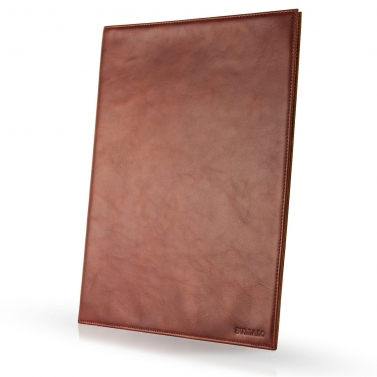 Leather document holder A4