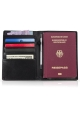 Leather passport cover BULLAZO