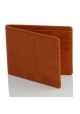 Slim wallet without coin pocket for men
