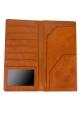 Leather passport cover holder BULLAZO Plano