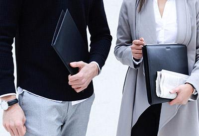 Travel wallet document holder envelope leather black brown grey cognac