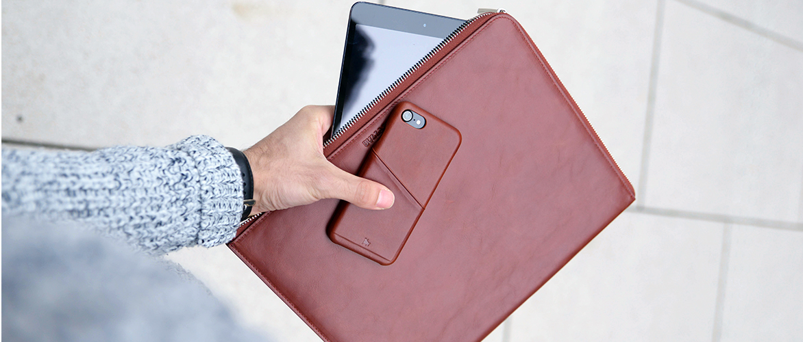 iphone xr leather case with card slot