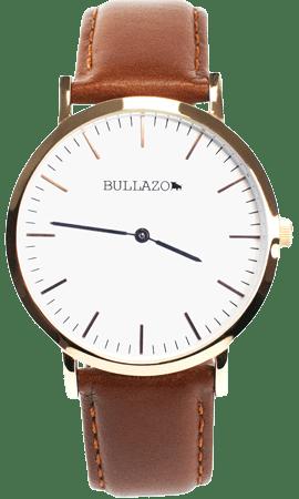 Detail-Armbanduhr-braun-rosegold-front-2