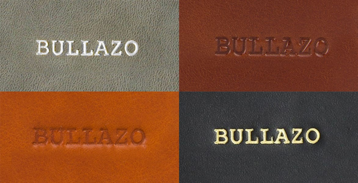 engrave leather wallets and leather cases personalisation